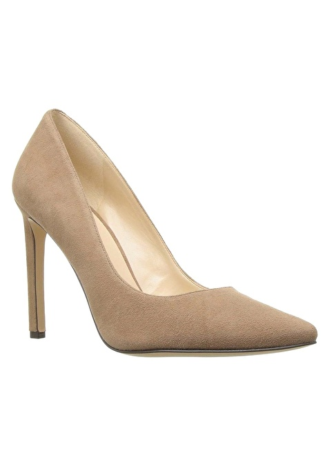 Nine West Süet Stiletto Ayakkabı Ten